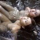 女たちの湯へ