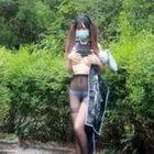 エロ写真に挑戦女子