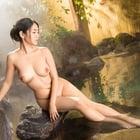 露天風呂は