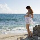 渚とビーチとおっぱい美女